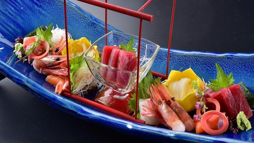 季節の鮮魚盛り合わせ
