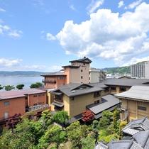 江戸時代より続く諏訪湖随一の老舗旅館。