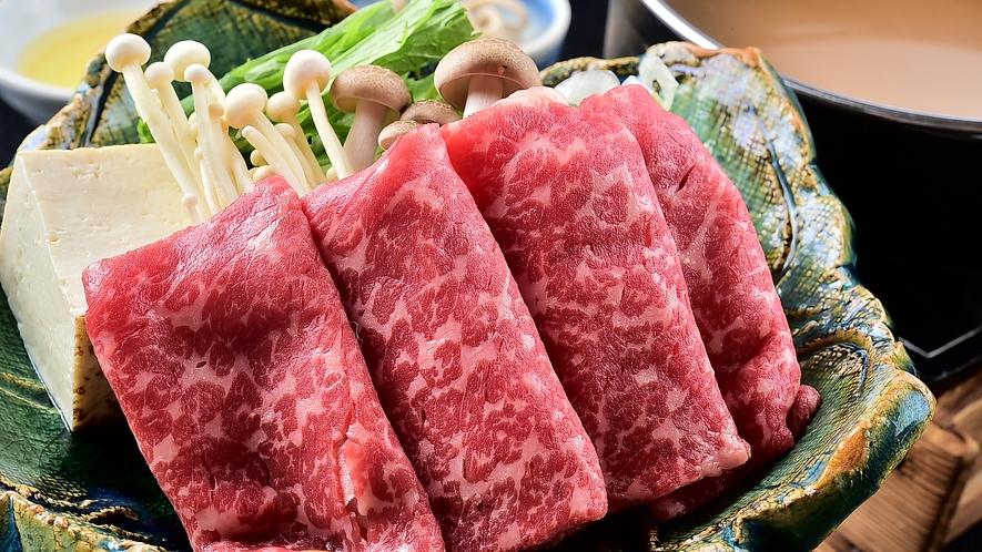黒毛和牛の酒蔵すき焼き(冬の味覚祭のメイン料理)