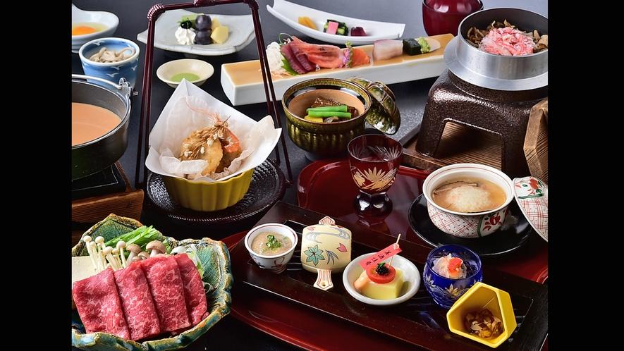 一番人気の「味覚祭」シリーズ(写真は冬のお料理)