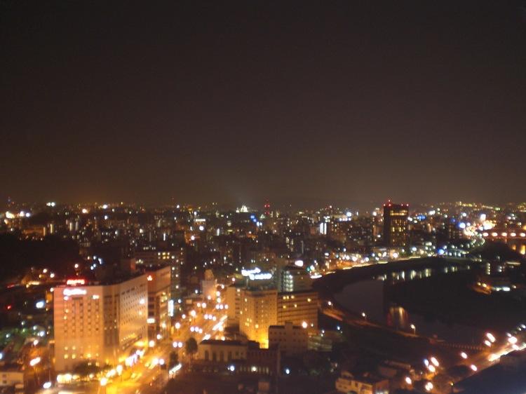 東横インからの夜景