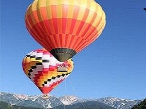 一度は乗ってみたい熱気球