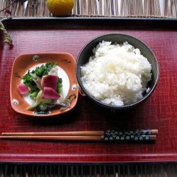 一の倉のお米