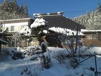 冬の一の倉