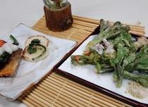春の山菜料理