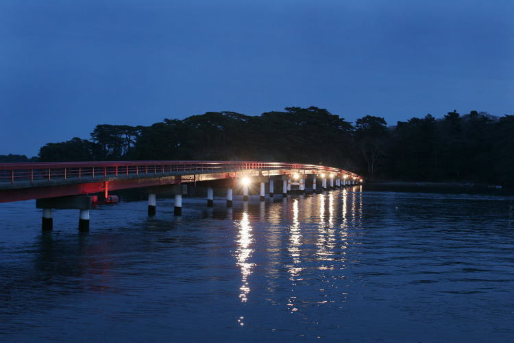 松島の名所♪福浦橋