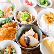 Lohasな健康朝食(※メニューは日替わり)