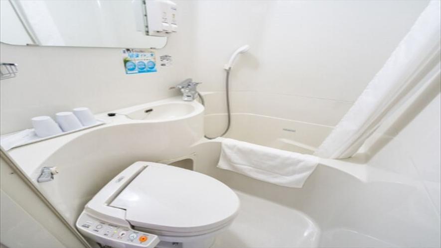 客室ユニットバス【一部バジェットルームはシャワーブースのみ】