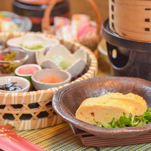 【ご朝食一例】カラダに優しい和朝食をご用意いたします