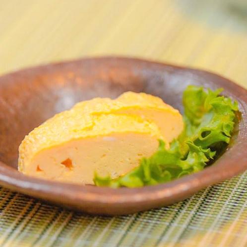 【ご朝食一例】朝の定番・ふわふわの出汁巻きたまご焼き