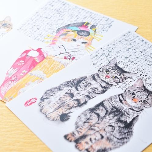 【売店】和風でおしゃれなポストカードまで!