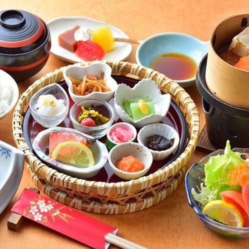 【朝食一例】カラダに優しい和朝食をご用意いたします