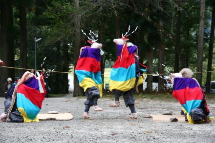 五ツ鹿踊り