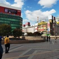 ★仙台駅西口★<ホテルから徒歩20分>⇒