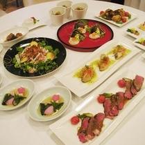 ◆歓送迎会料理の一例◆