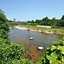 広瀬川<大橋まで徒歩5分>