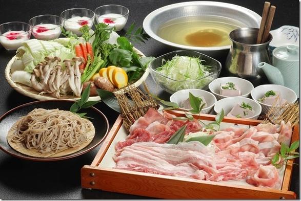 ペットと素敵な旅を…地元野菜をたっぷり堪能☆飯南豚のつゆシャフ゛プラン!