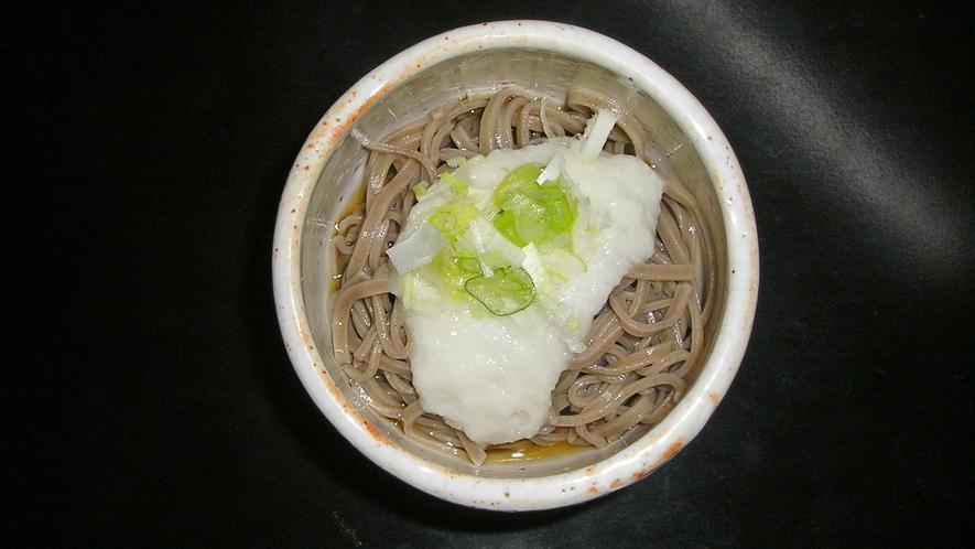 *料理一例/「蕎麦」季節ごとの美味をお楽しみください。