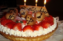 オリジナル バースディーケーキ