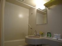ユニットタイプバスルーム(当宿には共同浴場・温泉施設はございません)