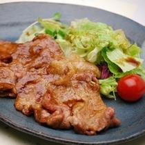 生姜焼き(夕食レストラン)