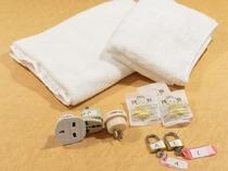 【レンタル品】バスタオル 100円南京錠、耳栓、アイロンなど 無料