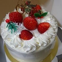 クリスマスをお楽しみください ケーキは4号サイズです