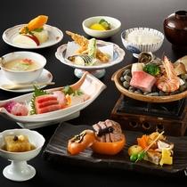 夕食イメージ 旬彩会席 2016年9~11月