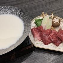 国産牛豆乳鍋
