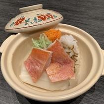 金目鯛と野菜の沢煮鍋