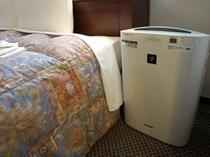 レディースルームは加湿機能つき空気清浄器常設☆