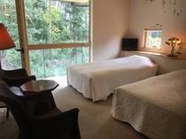 宿泊の部屋