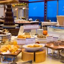 【夕食バイキング・デザート】和菓子、洋菓子ともに種類豊富に取り揃えております♪