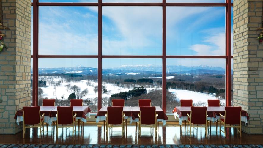 12階レストラン『サウスエルフィン』冬