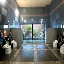 大浴場■ゆっくり足をのばせる大浴場です。(深夜2時まで)
