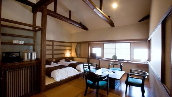 【泉游亭・つつじ】和室+和ベッドルーム+広縁<禁煙>