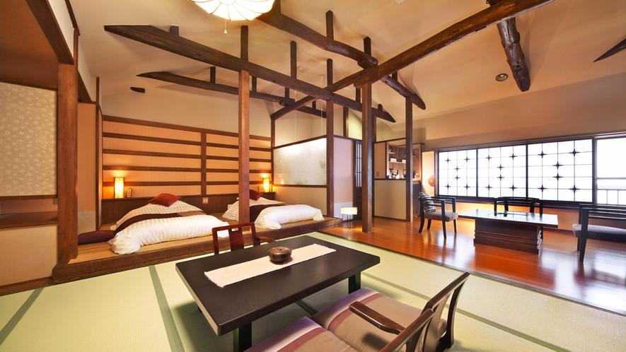 【泉游亭・さくら】和室+和ベッドルーム+広縁<禁煙>