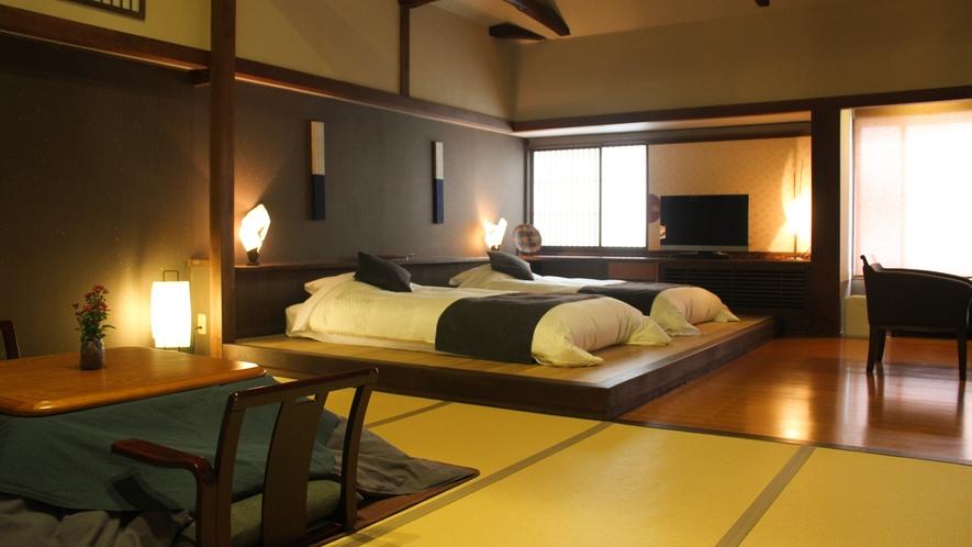 【泉游亭・きり】和室+和ベッドルーム+広縁<禁煙>