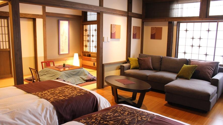 【泉游亭・りんどう】和室+洋ベッドルーム<禁煙>