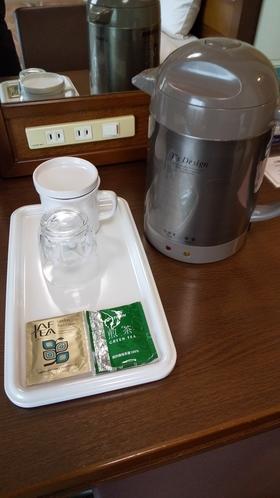 電気ポット・お茶&紅茶