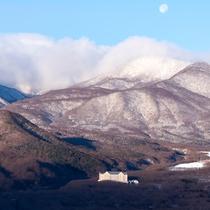 雪が積もるとまた景色が変わります 佐々木俊江様撮影