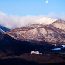 少し雪の残る中での撮影 佐々木俊江様撮影