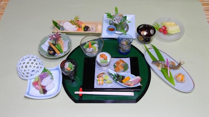 ◆冬季限定・京会席◆風情ある、銀世界の貴船へ…ひろ文で冬の京会席を食す。