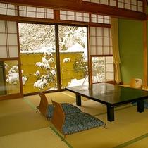 ◆冬の客室
