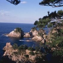 山陰の松島『浦富海岸』