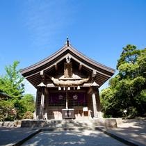 神話『因幡の白兎』の白兎神社
