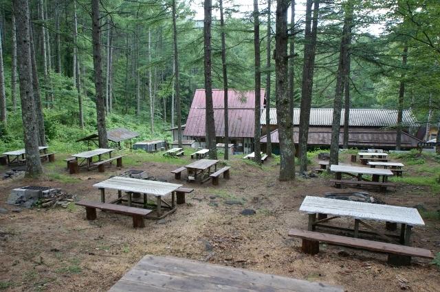 野外BBQ場