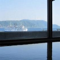 錦江湾を望む展望温泉