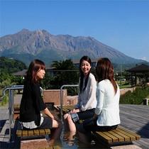 日本最大級の足湯