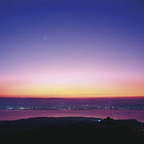 夕刻の景色